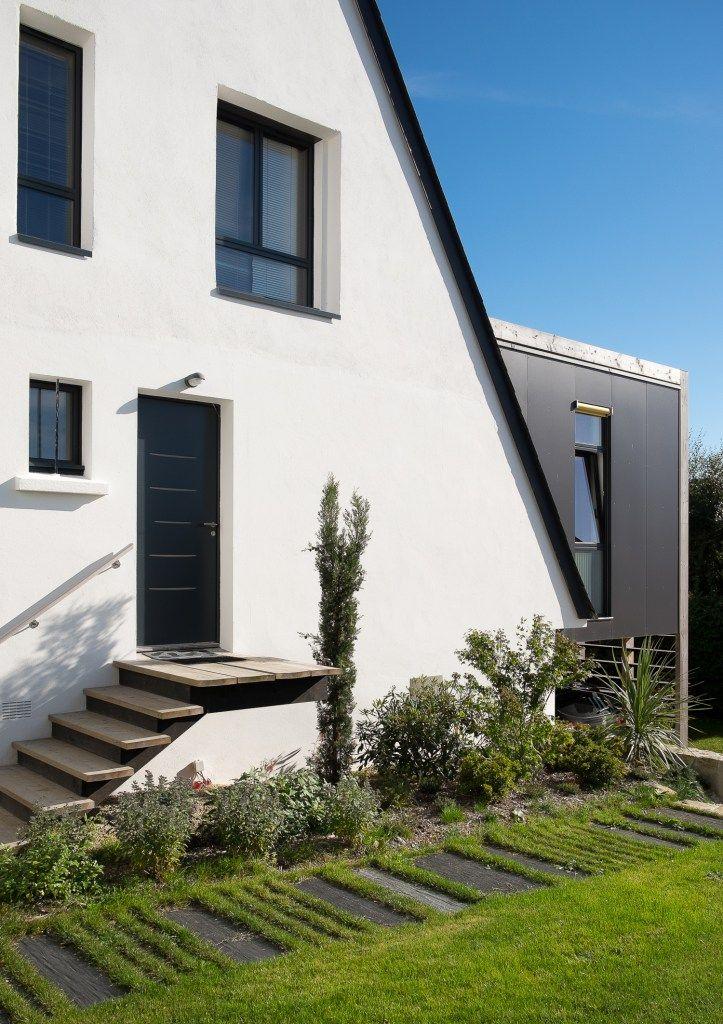 Entree moderne maison bbc bretagne skeledenn id es pour la maison maison maison architecte - Maison bretonne moderne ...
