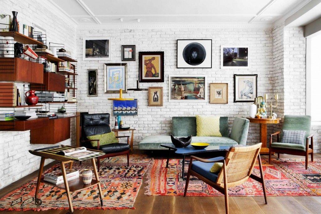 Woonkamer Eclectisch Inrichten : Modern en opvallend de woonkamer eclectisch inrichten decor