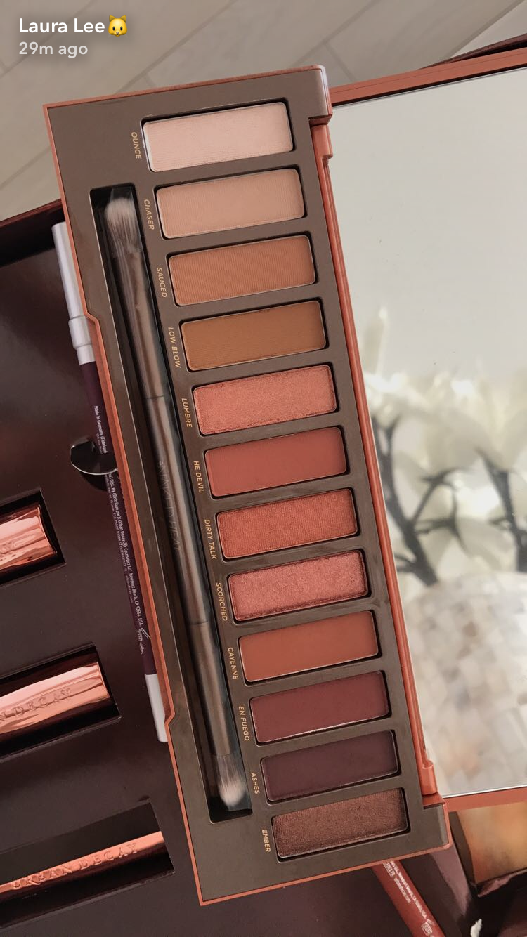 Naked Eyes Neutral Eyeshadow Guide: Naked Heat Palette By Urban Decay