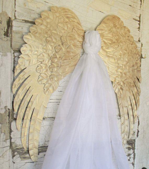Angel Wings,Angel Wing Wall Decor,Pair Of Angel Wings,Metal Angel ...