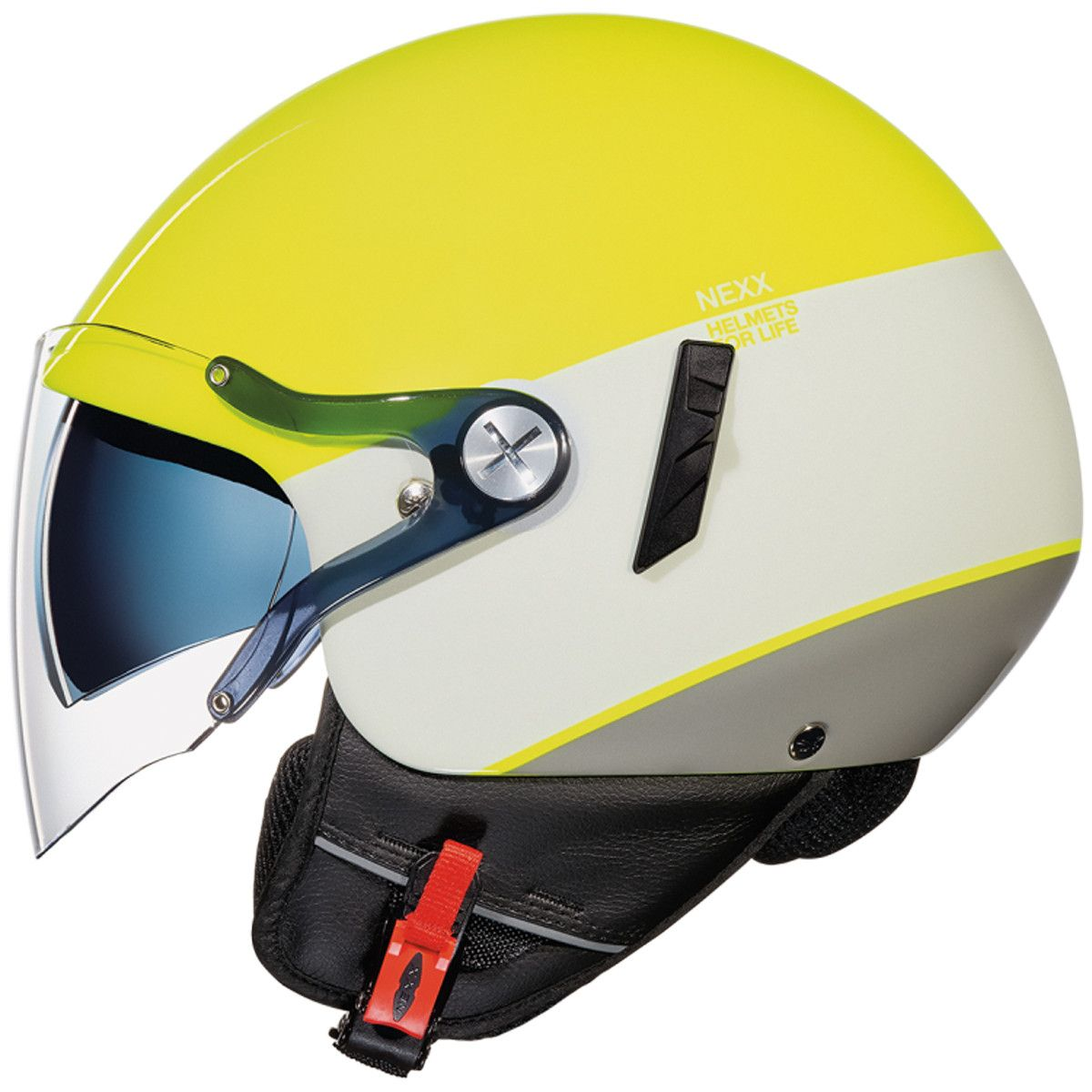 02301dfb Nexx SX60 Smart 2 Helmet in Yellow/White/Grey - With all the features you  need for city riding and plenty of graphics to chose from, the SX60 is the  perfect ...