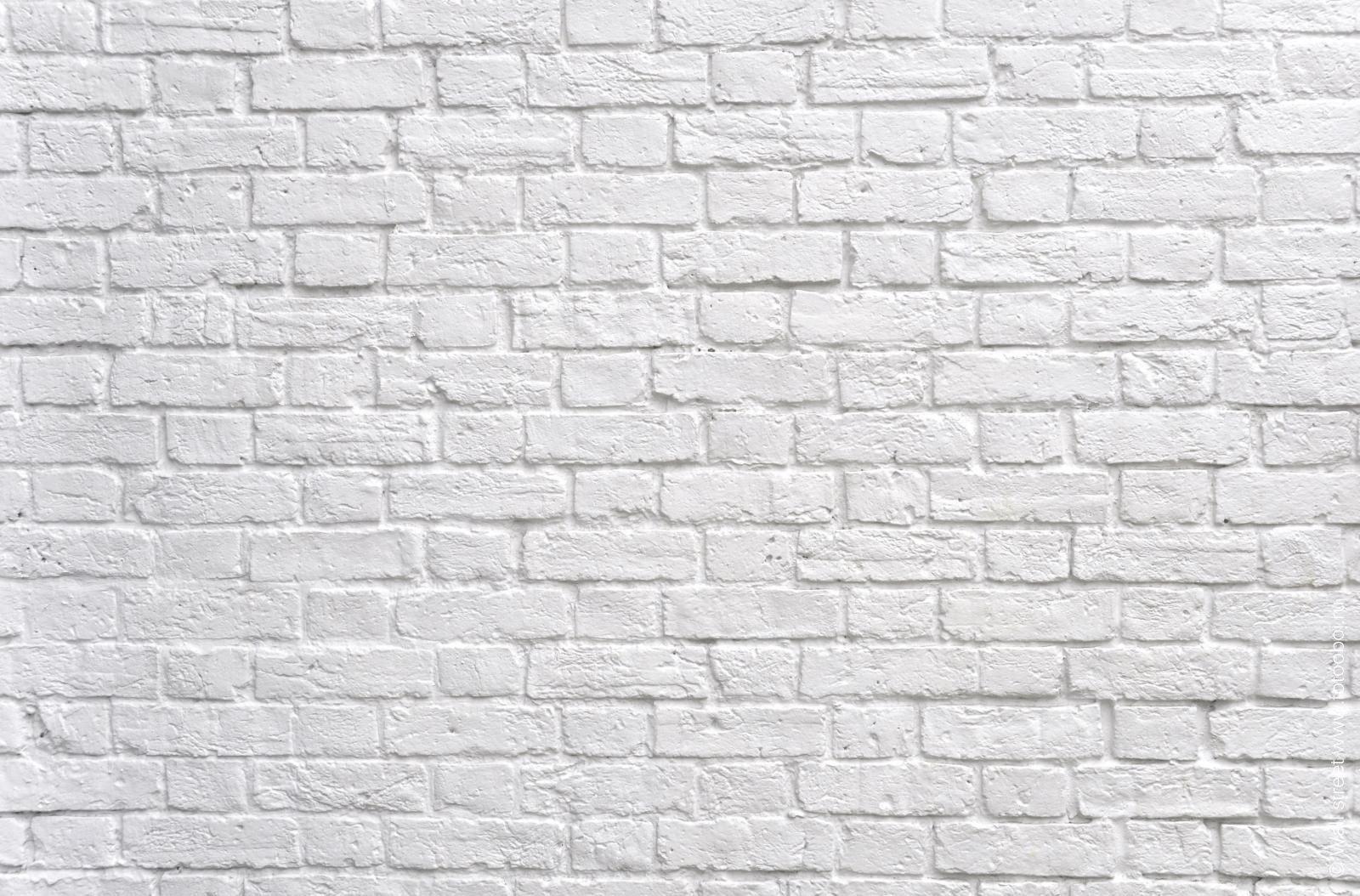 белый кирпич фото