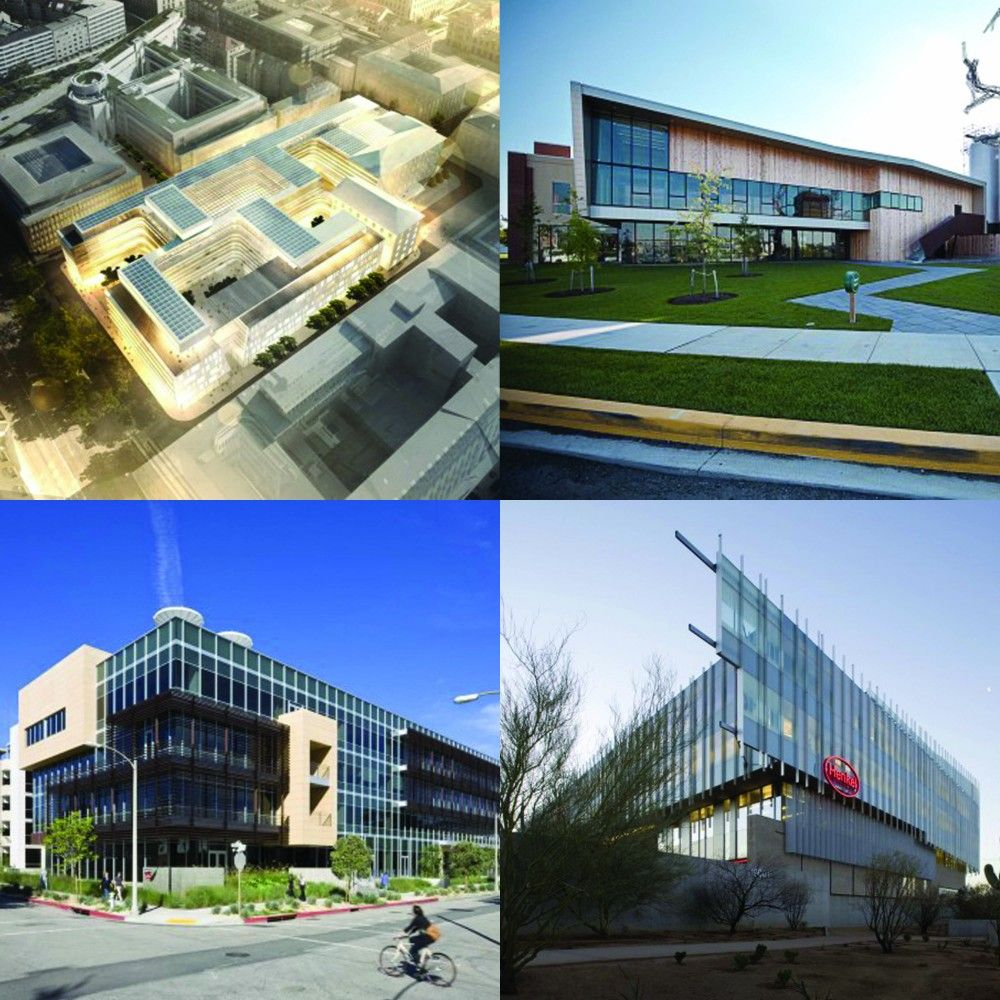 Gallery Of Sustainable Office Buildings 7 Office Building Energy Efficient Buildings Residential Building
