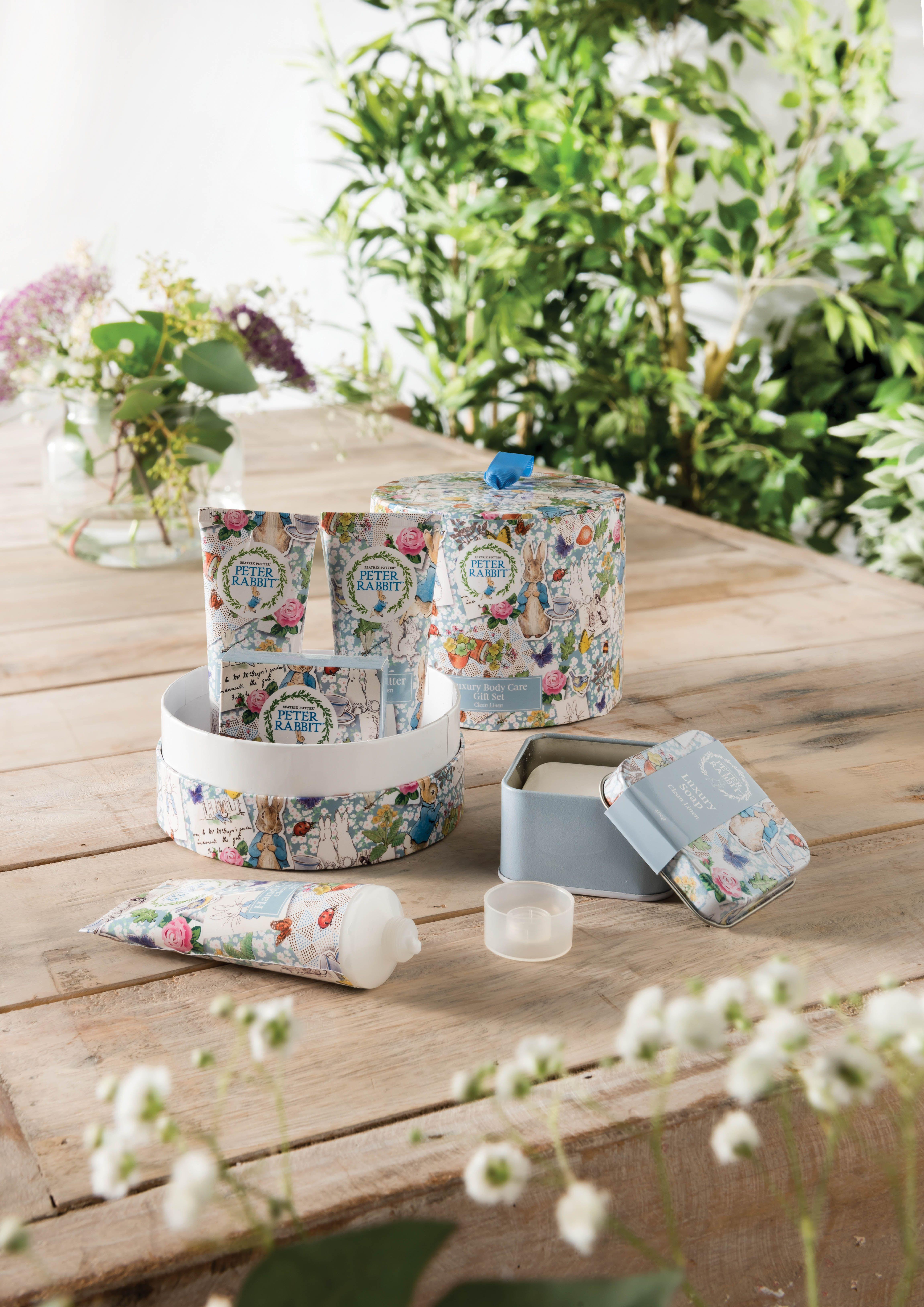 Beatrix Potter Peter Rabbit Gift Set in 2018 | Beatrix Potter Gifts | Gifts, Beatrix potter, Peter rabbit gifts