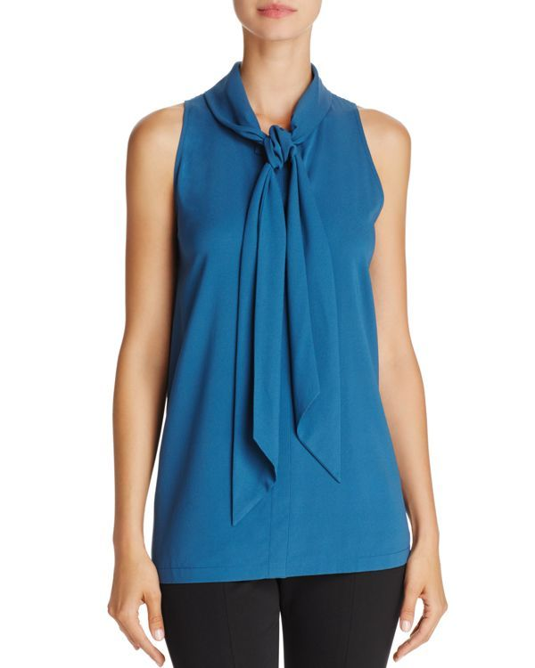 6274d6971ea3d Theory Stretch-Silk Scarf Tank
