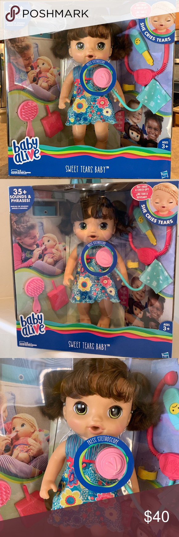 Baby Alive Sweet Tears Baby Nwt Baby Alive Tears Baby
