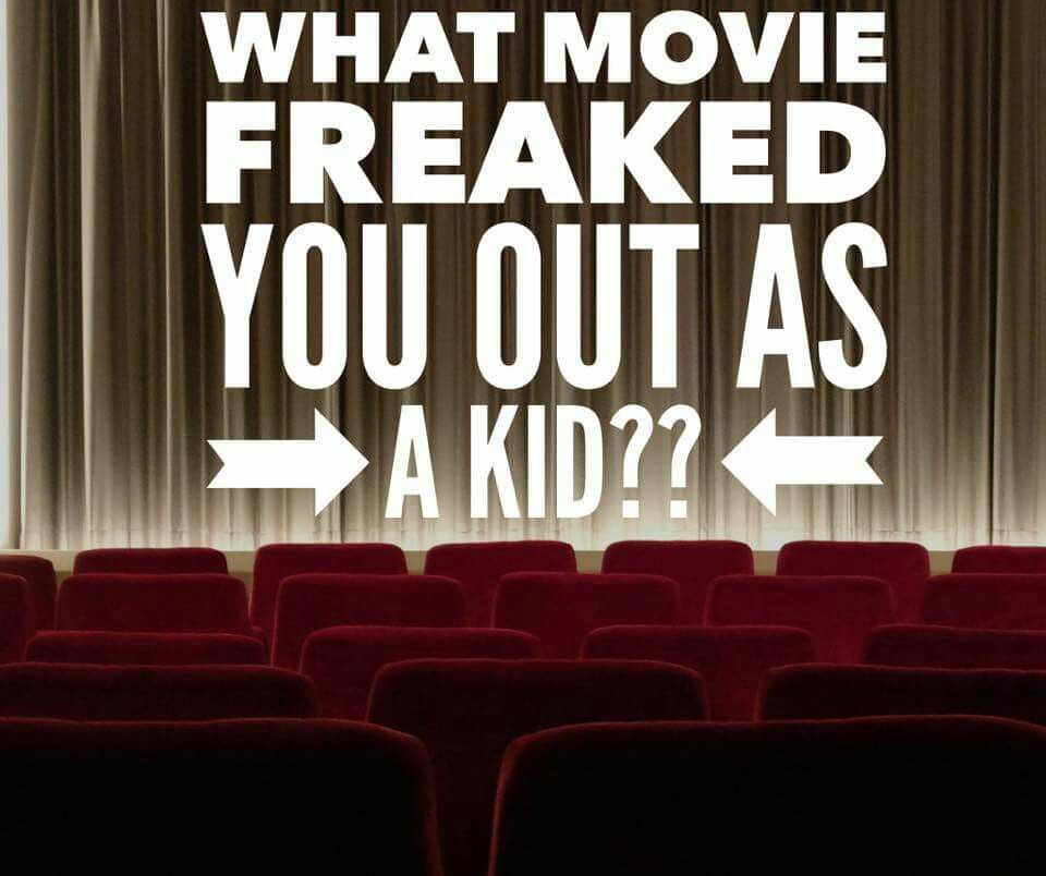 Engagement Party Games: What Movie Freaked You Out As A Kid? PureRomance.com