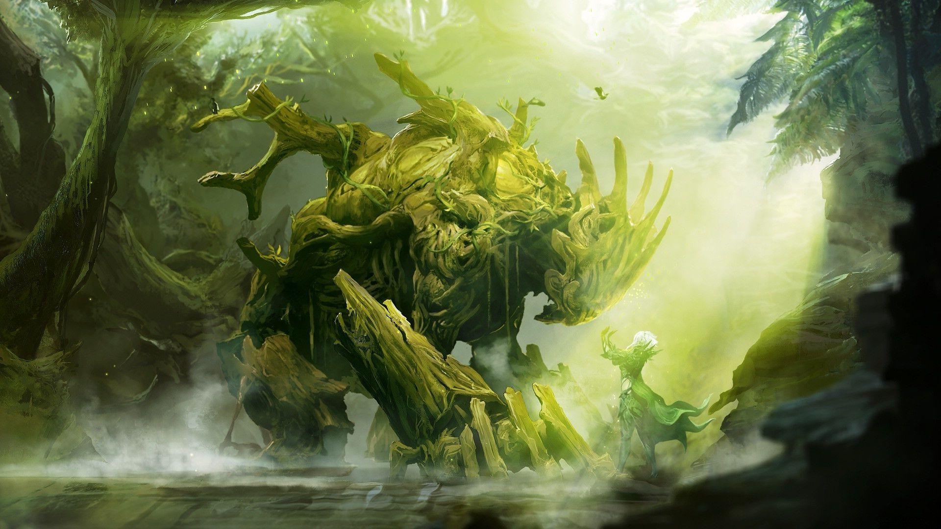 Godlike Guild Wars Guild Wars 2 Monster Art