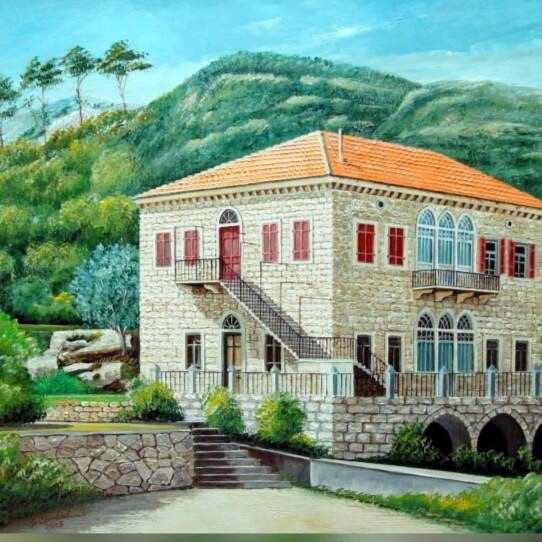 من البيوت القديمة الرائعة Amazing Old House Architecture House Stone Houses Traditional House