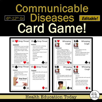 Help Your Students Understand The Difference Between Communicable And Noncommunicable Diseases Lesson Plan And P Health Lesson Plans Health Education Disease