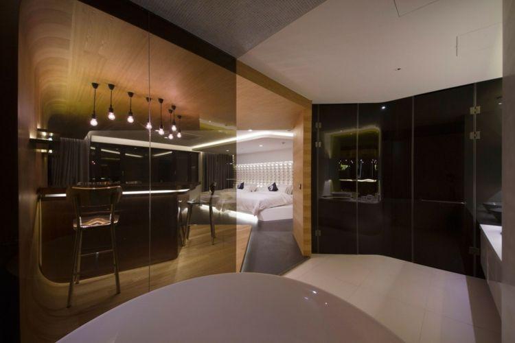 Hotelzimmer Design mit indirekter Beleuchtung – Luxus pur ...