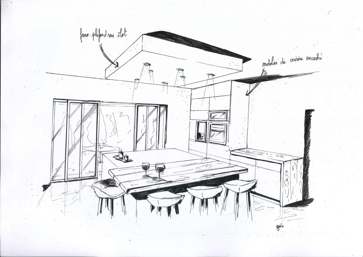 Epingle Sur Croquis D Architecte Amenager Votre Interieur Simplement