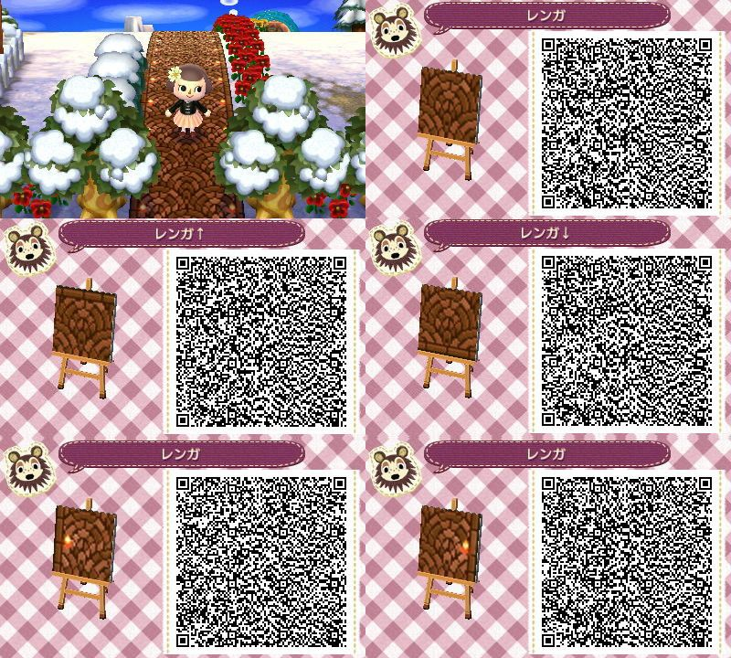 Request Corners For This Path Animal Crossing Qr Codes Animal