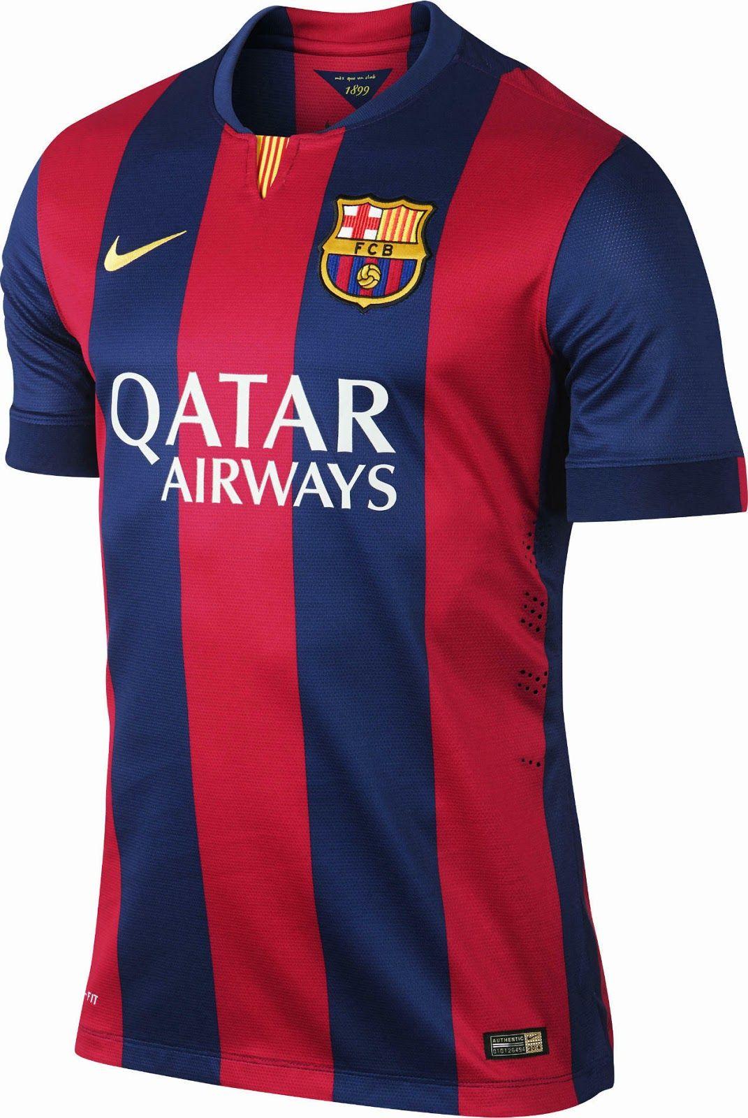 FC Barcelona 14-15 Home Kit  502485ee9d604