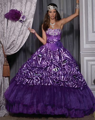 2aee4806ce Quinceanera Collection Quince Dress by House of Wu 26684 - French Novelty