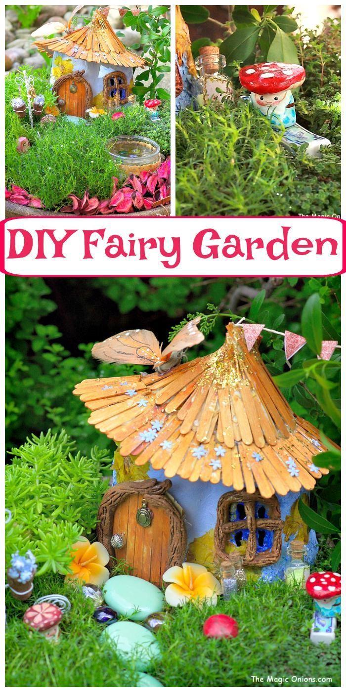 60 Best DIY Fairy Garden Ideas / Fairy Garden Houses