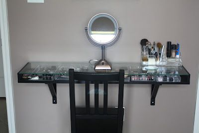 Skinny Makeup Station Mein Haus Home Decor Home Decor