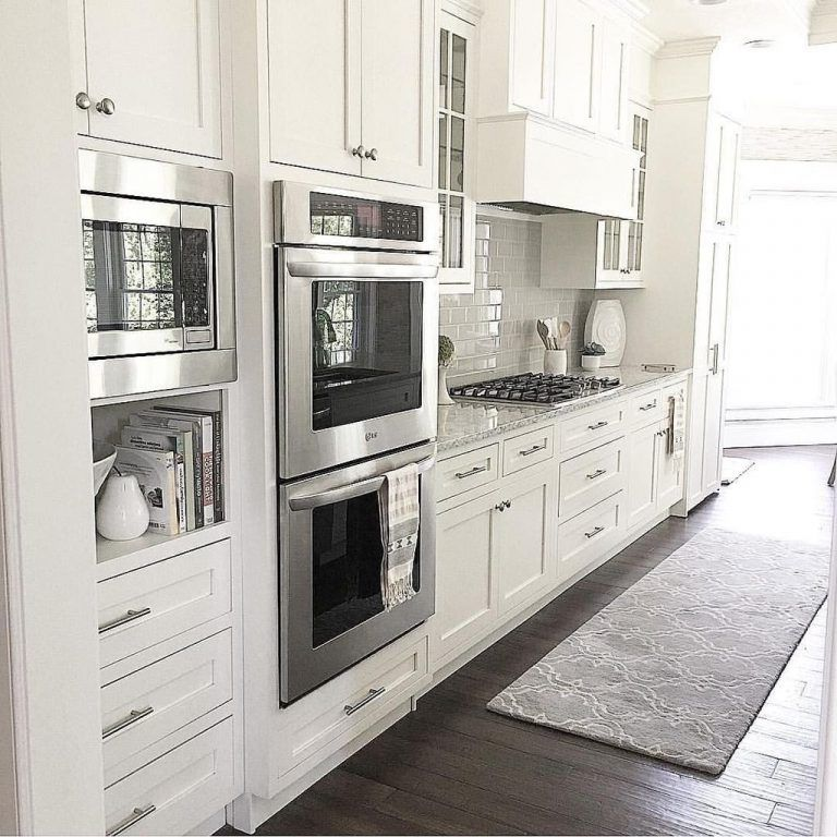 43 Classy White Kitchen Cabinets Decor Ideas - Page 9 of 43