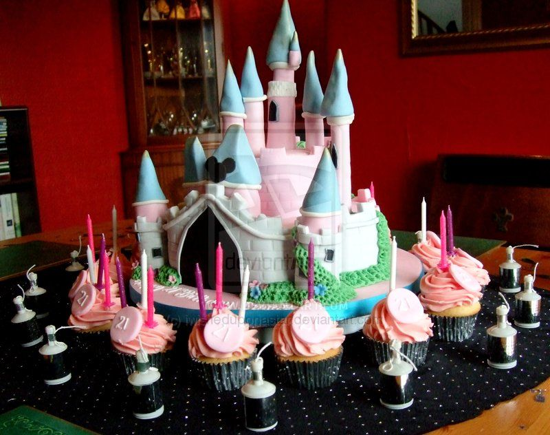 Magnificent Disneyland Cake For Chloes Birthday Party Kids Party Themes Funny Birthday Cards Online Aeocydamsfinfo