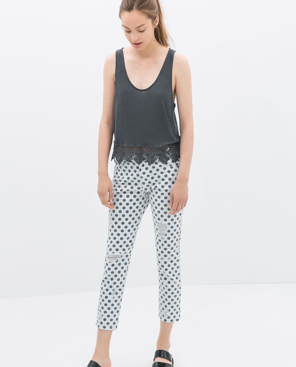 TOP MOTIF BRODÉ de Zara (also in white) 19,95 EUR
