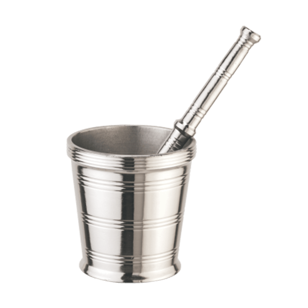 Mortar And Pestel No 5 Stainless Steel Smita Set Of 2 Pieces