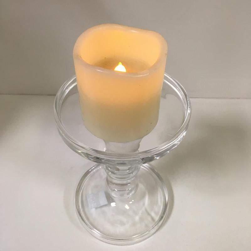 Blog Clear Blown Glass Pillar Candle Holders Glass Vases