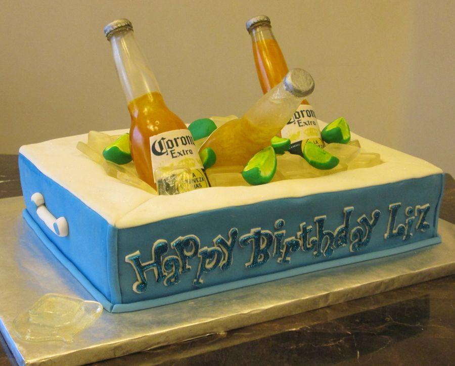 Corona cake idea birthday cake for boyfriend cake