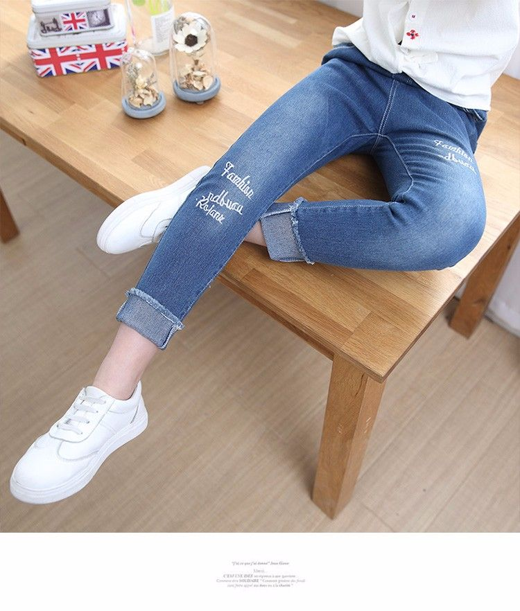 5d945f142ad85 ... Soft Kids Pants Jeans Wholesale - Buy Kids Denim Jeans Girls,Pants  Tight Jeans,Kids Clothing Suppliers China Jeans Wholesale Product on Alibaba .com