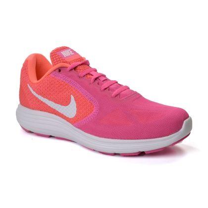 tenis nike rosa laranja