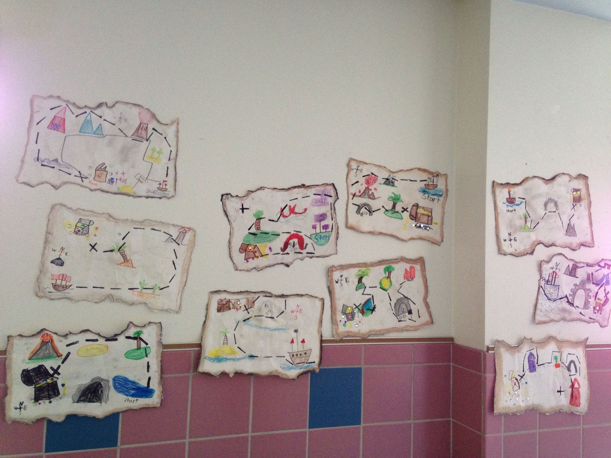 1st Grade Pirate Treasure Maps This Lesson Was So Much