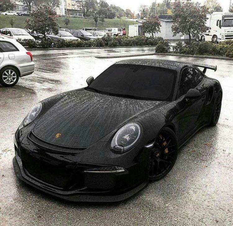 Luxury Cars Porsche Cars Black Porsche: Triple Black Porsche Turbo GTS3