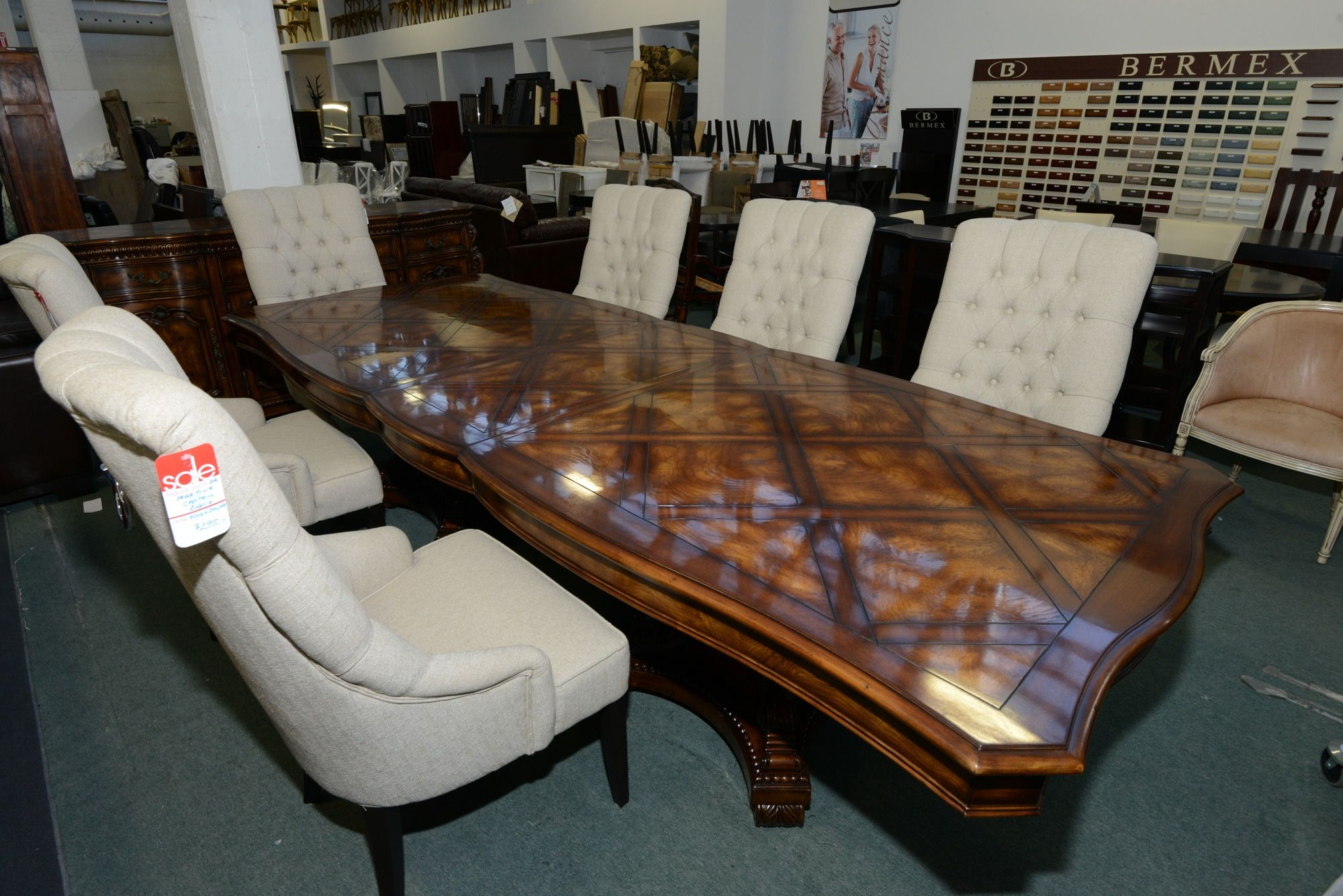 Elegant Royal Dining Table Set GH Johnson Furniture Toronto