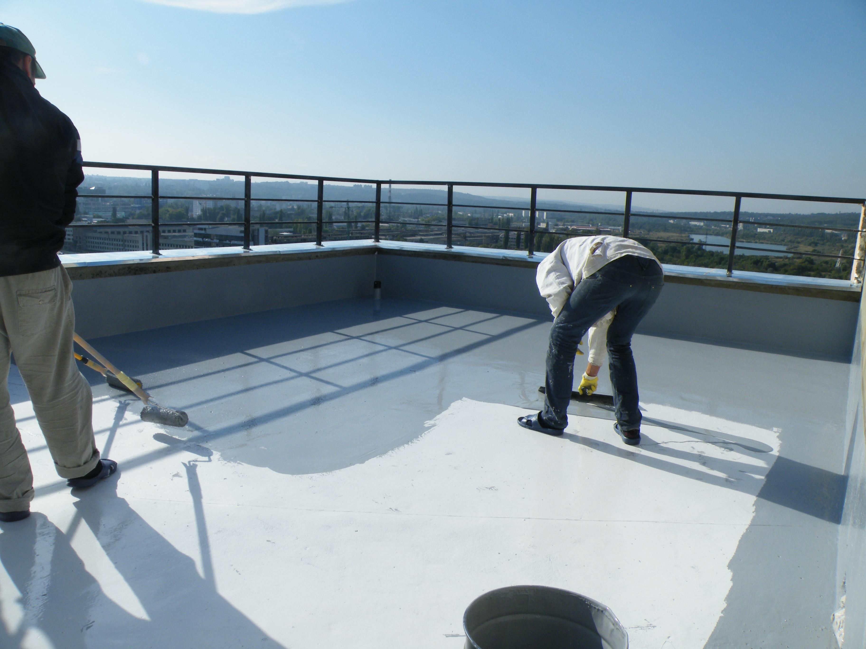 Alexextrusions Ensures Smooth Terrace Waterproofing With Roff Hyproof Which  Is An Easy To Use Liquid Integral