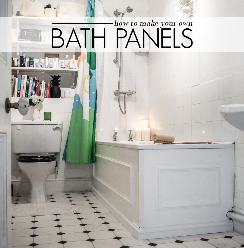 How to Make Your Own Bath Panels | AO at Home Blog | 4411 ...