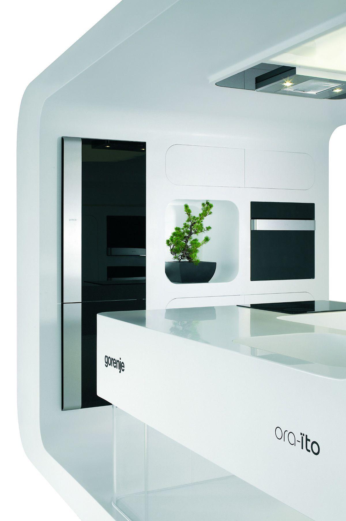 Futurystyczna kuchnia Gorenje/Futuristic kitchen Gorenje ...