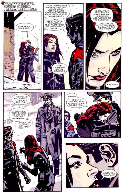 Black Widow, Winter Soldier...
