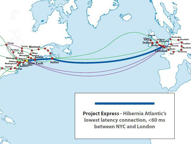 A Transatlantic Cable to Speed Up Stock Trades | Pinterest | Flat earth