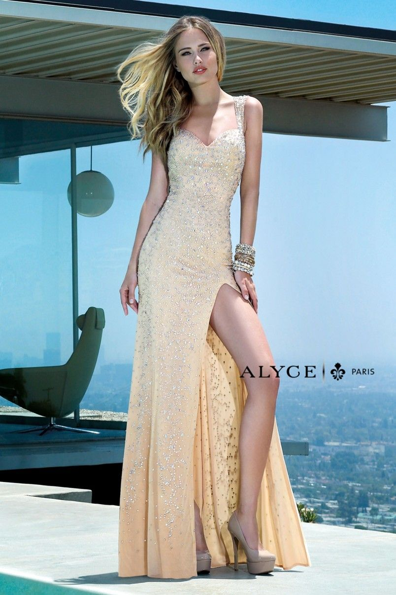 Alyce paris prom dress style full view alyce paris