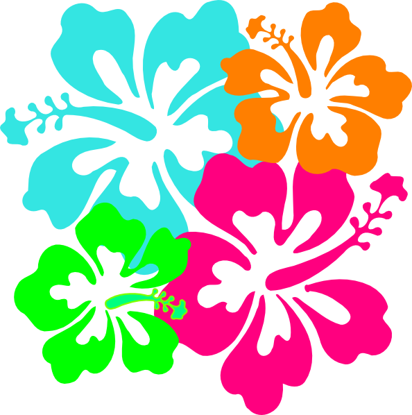 Hibiscus Flower Clipart Clipart Suggest In 2020 Hibiscus Clip Art Hibiscus Hawaiian Crafts
