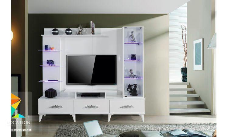 تصميم مكتبات مودرن افكار للتلفزيون المعلق على الحامل في الجدار 2019 Loft Bed Home Home Decor