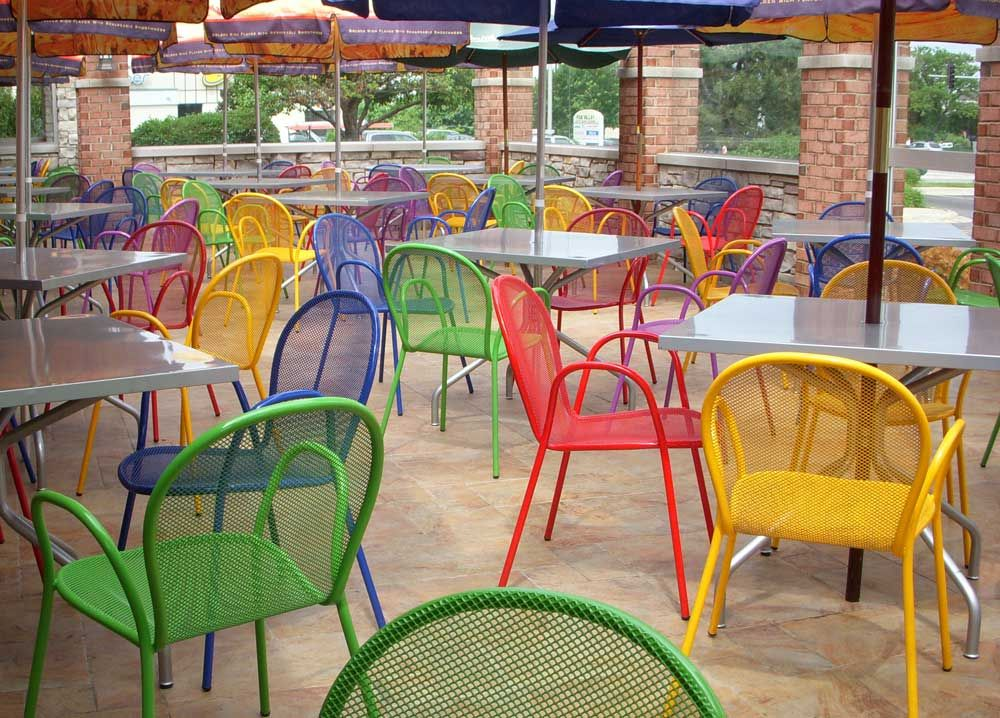 commercial outdoor bistro furniture  Respite in 2019