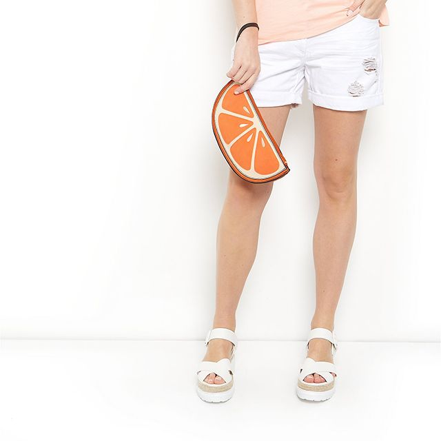 A beautiful and summery clutch for sunny and warm summer days