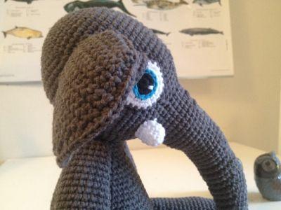 ༺༺༺♥Elles♥Heart♥Loves♥༺༺༺ ........♥Crochet Amigurumi♥........ #Amigurumi #Patterns #Crochet #Softies #Childrens #Toys #Handmade #Teddy #Doll #Tutorial #Patterns #Collectable~ ♥Bad Monkey Designs Sweet Elephant