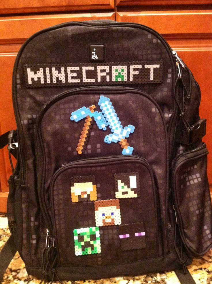 Minecraft Backpacks for School | This year's Minecraft backpack ...