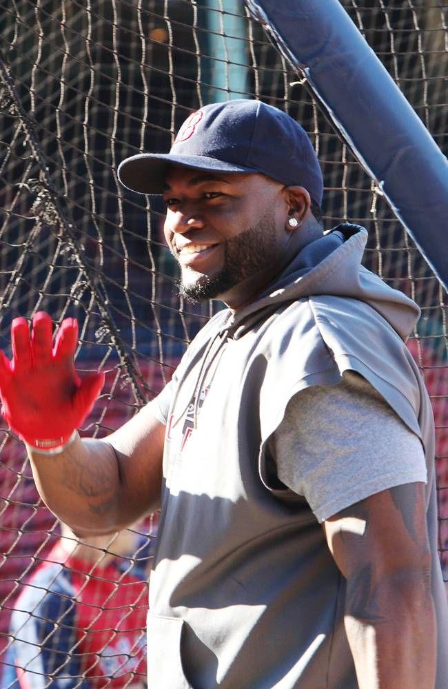 BOSTON, MA JUNE 19 David Ortiz 34 of the Boston Red