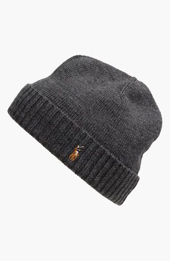 Polo Ralph Lauren  Classic Lux  Merino Wool Knit Cap available at  Nordstrom 2a562f412d02