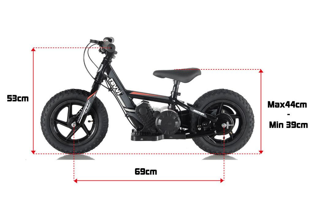 Kids Electric Bike Electric Push Bike Balance Bike Electric