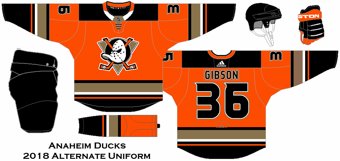 quality design b8907 2f115 anaheim ducks jersey concepts
