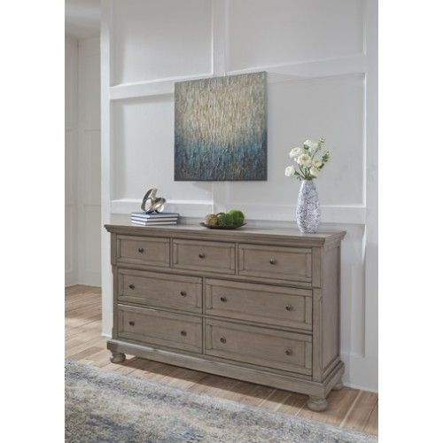 Best Lettner 4 Piece Sleigh Storage Bedroom Set In Light Gray 400 x 300