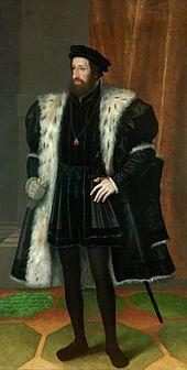 Gemälde von Kaiser Ferdinand I. (um 1550)  170px-Hans_Bocksberger_der_Aeltere_001.jpg (170×336)